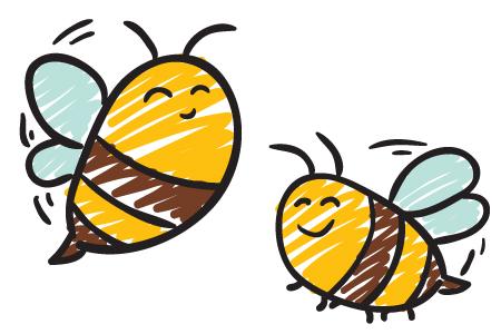 Priden kot čebela! Fotografski in risarski natečaj na temo ČEBEL