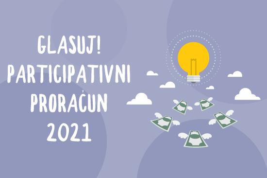 Oddaj svoj glas za naj ideje participativnega proračuna 2021